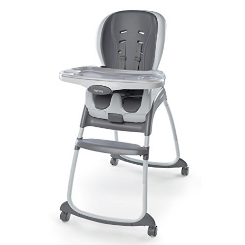 High Chairs Toddlers - Ingenuity SmartClean Trio 3-in-1 High Chair - Slate