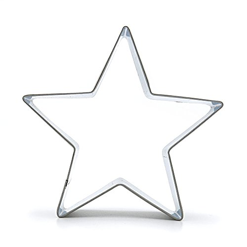 Metal Biscuit Pastry Cookie Cutter Jelly Craft Fondant DIY Kitchen Baking Tool Sandwiches A019 Five-pointed star by ebemallmall Cookie Cutters