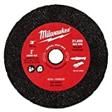 Milwaukee 49-94-3000 3-inch Metal Cut Off Wheel - 3 Pack