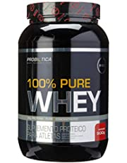 100% Pure Whey, Probiótica, Morango, 900 G