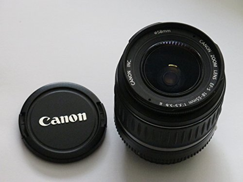 Canon EF-S 18-55mm f/3.5-5.6 II Lens for EOS Digital SLR ...