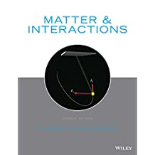 Matter and Interactions, 4th Edition: 1-2