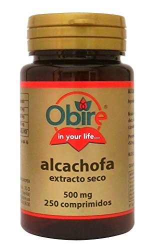Obire Alcachofa 500 Mg. (Ext. Seco) 250 Comp. by Obire