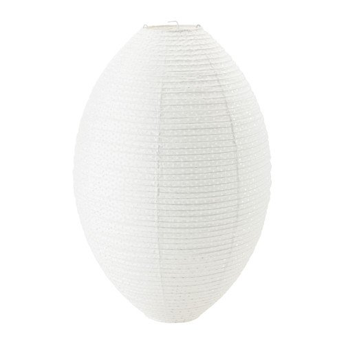 Oval lamp shades amazon ikea pendant lamp shade white oval 19 rice paper aloadofball Gallery