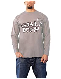 Guardians of the Galaxy T Shirt Star Lord Official Mens New Grey Long Sleeve