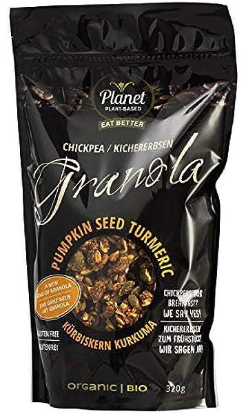 "Planet Plant Based Bio Granola ""semillas de calabaza/ cúrcuma ..."