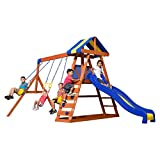 Best Swing Sets - Backyard Discovery Dayton All Cedar Wood Playset Swing Review