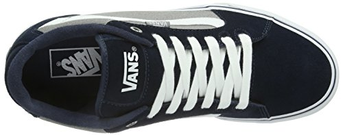 Vans Faulkner, Men's Low-Top Trainers Navy/Grey/White