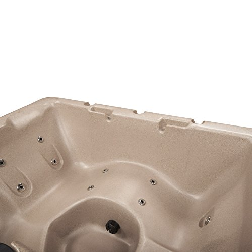 Essential Hot Tubs 14 Jets Newport Hot Tub, Cobblestone