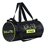 Salute Basic New Polyester 30 Liters Black travel bag Sports gym Duffel bag