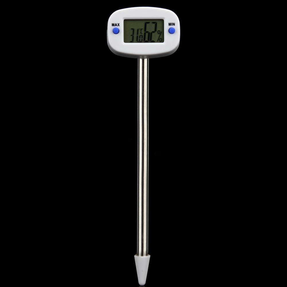 Measure Digital Thermometer Humidity LCD Monitor Soil Tester Lawn Soil Temperature and Humidity Meter SADA72 Soil Tester