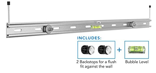 Mount-It! Sonos Playbar Soundbar Wall Mount, Universal Soundbar Wall Mount Bracket Kit for Samsung, Bose, Vizio and Others, 33 Lbs ()