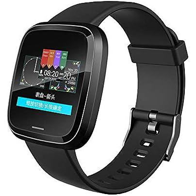 pomelogreem Sleep Monitor pedometer Sports smart watch big heart rate Bluetooth sleep waterproof bracelet Activity Trackers Sports Watch Pedometer Estimated Price £33.80 -