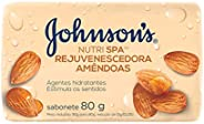 Sabonete Barra Amêndoas, Johnson's,