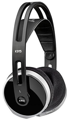 AKG K K912 - Auriculares supraaurales para dispositivos iOS y Android (32 ohmios, 102 dB, NFC, almohadillado de proteína de cuero), negro: Amazon.es: ...