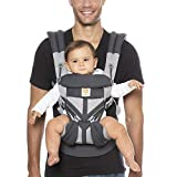 Ergobaby Omni 360 Baby Carrier Cool Air Mesh, Carbon Grey, Multicolor