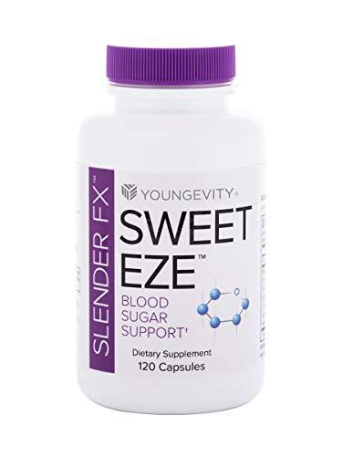 (INTERNATIONAL SHIPPING) Slender FX Sweet Eze 120 Capsules Blood Sugar Regulation Youngevity