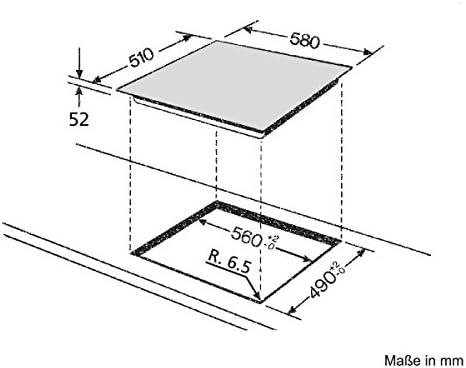 Bauknecht Esif 6640 In Kochfeld Elektro Induktion 58 Cm 4