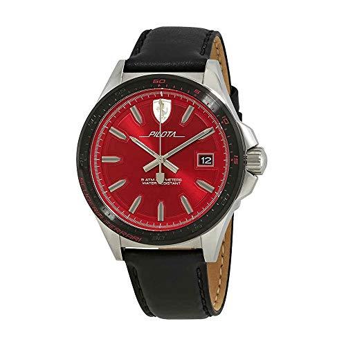 Ferrari Pilota Red Dial Men's Watch 0830489