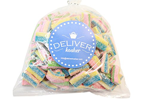 Price comparison product image Deliver Kosher Bulk Candy - Rainbow Licorice Cubes - 1lb Bag