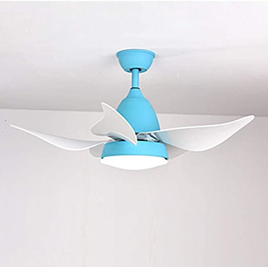 Ventilador de Techo Moderno, con Soportes de luz led para Ventiladores de Sala de Estar y portalámparas Dormitorio ...