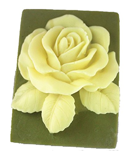 Longzang Rose Mould S358 Craft Art Silicone Soap Mold Craft Molds DIY Handmade Candle Molds