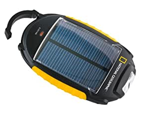 National Geographic 4in1 Solar Charger - Power Bank - Torch - Soft Panel Light