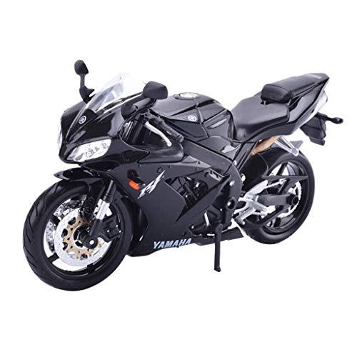 LENO MotoGP Yamaha Supercross YZF R1 Motorcycle Die cast Models   High Simulation   Scale 1:12  Colour Black ()