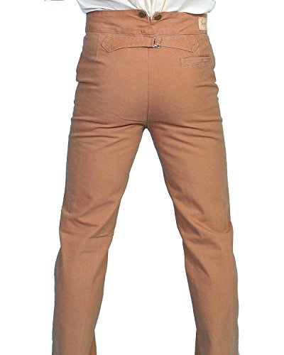 (Scully Rangewear Men's Rangewear Canvas Pants Brown 36)