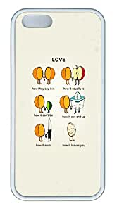 Best iPhone 5S/5 Cases and Covers Love Explained iPhone 5/5S TPU Silicone Case Cover - White
