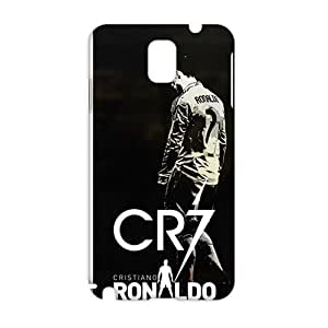 Evil-Store CR7 football player cristiano ronaldo 3D Phone Case for Samsung Galaxy Note3