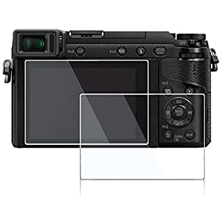 Screen Protector for Panasonic Lumix DMC-LX10 LX10 II DMC-GX8 DC-GX9 GX9 GX85 DMC-LX10 LX9 G9 G85 G7 G7 Mark ii FZ300 FZH1 GX7 II III,desous Anti-Finger Tempered Hard Protective Cover