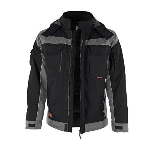 Travail Fermeture Col De Noir gris winterjacke Montant Qualitex Avec verschieden Veste Scratch Pro Couleurs xwqZnIf