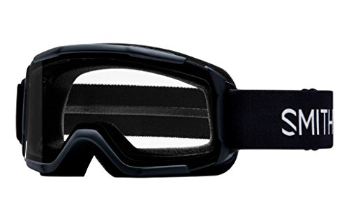 Smith Optics Youth Daredevil Snow Goggles Black Frame/Clear