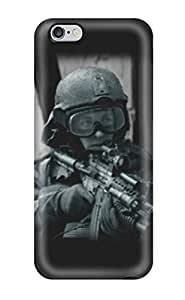 Hot Soldier First Grade Tpu Phone Case For Iphone 6 Plus Case Cover