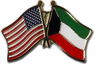 Kuwait ~ Friendship Lapel Pin