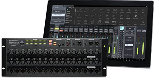 PreSonus StudioLive RM32AI 32-channel, rack-mount digital mixer with 32 remote XMAX preamps - 32 Live Sound Mixer