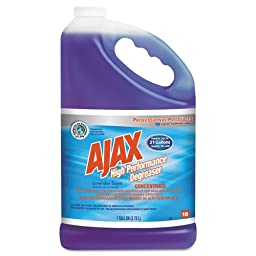 Ajax Expert High Performance Degreaser Concentrate, Lavender Scent, 1 gal Bottle - Includes four one-gallon bottles.