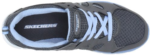 Skechers Synergy Ultimatum 11684 BKW - Zapatillas fashion para mujer Gris (CCLB)