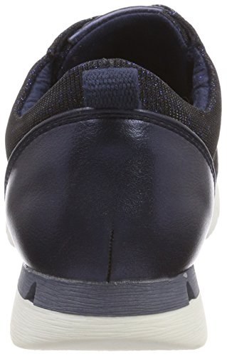 Marco Tozzi Women's 23700 Low-Top Sneakers Blue (Navy Met.comb) x5iFGHnE