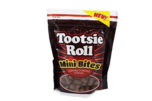 Tootsie Roll Mini Bites Candy Coated Chews, 9 -