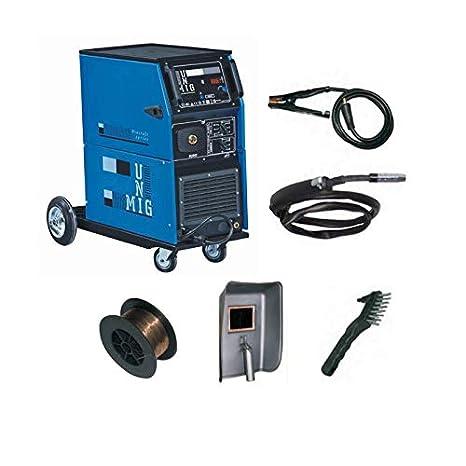 Estación de soldadura profesional MIG MAG Mog - dogomig 250 - Gas no gas: Amazon.es: Bricolaje y herramientas