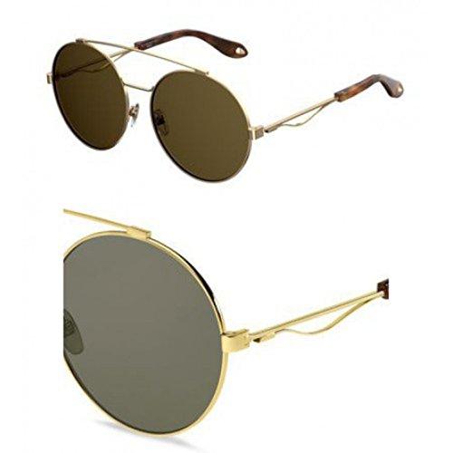 s Gold 0j5g 70 Sunglasses Lens Gv 7048 Givenchy Brown qawUH