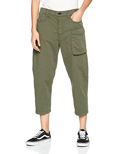 8165 lt Mujer G Hunter star Para Verde Raw Pantalones xwYP68pAq