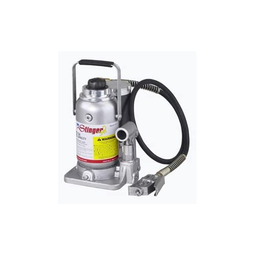 Image of OTC 4313C 12-Ton Capacity Air-Assist Hydraulic Bottle Jack Home Improvements