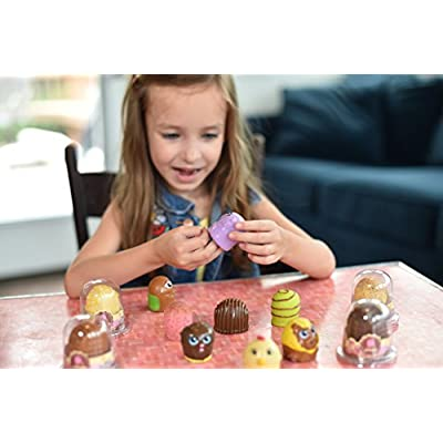 Chocotini Surprise Candy Creatures 4-Pack (Color & Style May Vary): Toys & Games