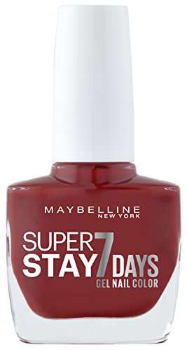 Maybelline Forever Strong Iron - Maybelline Forever Strong Super Stay 7 Days Gel Nail Colour (Deep Red 06) 10 ml