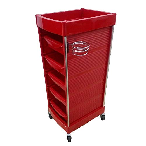 Beauty Storage Trolley Carros De Mantenimiento Equipo de Almacenamiento de múltiples Funciones para el Carro de la...