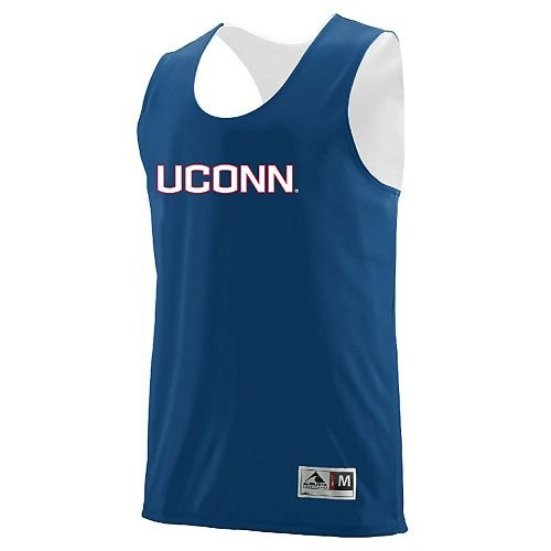 Youth Large Blank Back Connecticut Huskies Reversible Basketball Jersey