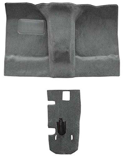 ACC Carpet Replacement for 1989 to 1996 Suzuki Sidekick 2 Door Passenger Area 801-Black Plush Cut Pile